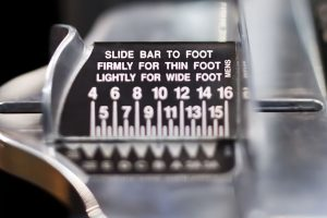 Brannock Device Foot Measuring Device