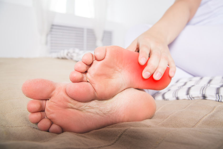 Women's Heel Pain