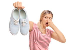 Women With Sweaty Feet