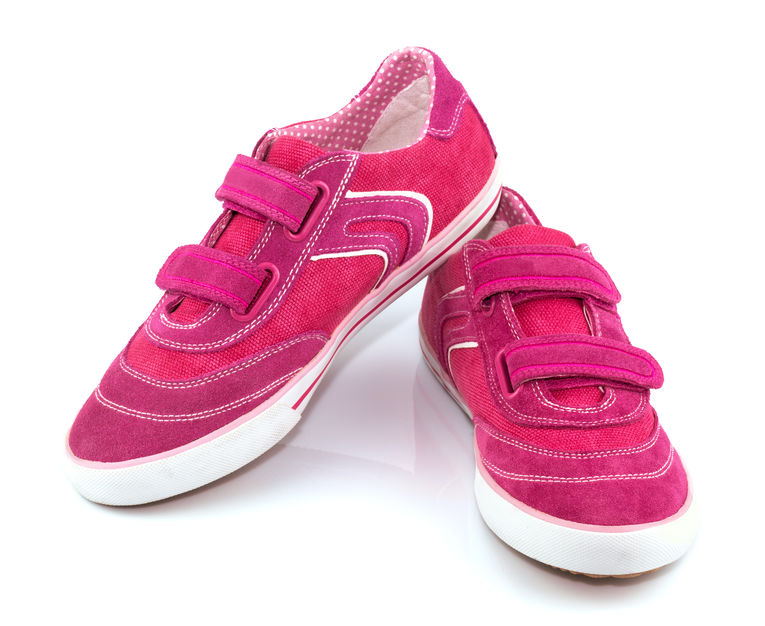 Velcro Fastening Shoes For Women