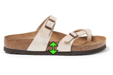 Sandal with Support