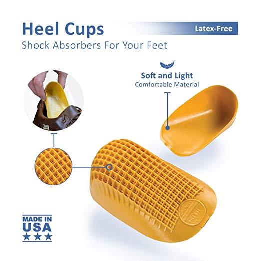 Heel Cups For Heel Pain