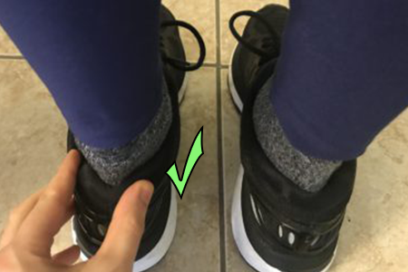 Prevent Your Heels from Slipping Off