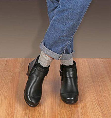 Wide Short Boots For Women