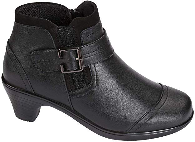 Short Boot for Wide Feet and High Instep