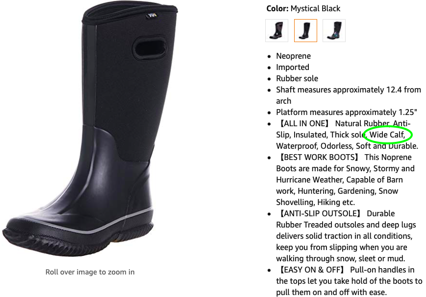 Snow Boots For Women With Wide Calves