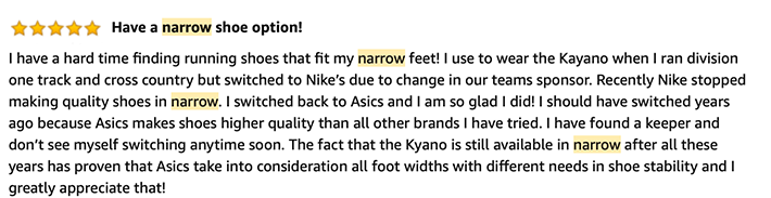 Narrow Sneakers Review