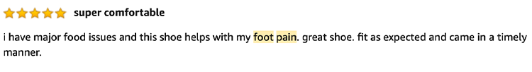 Review Foot Pain