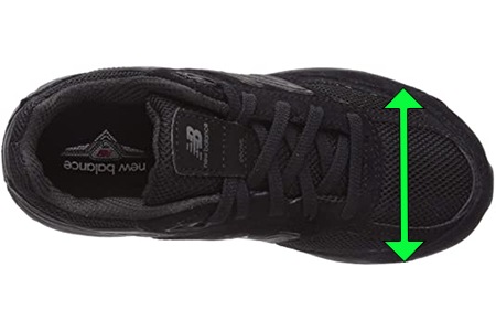 Black Women's Shoes with Round Toe-Box