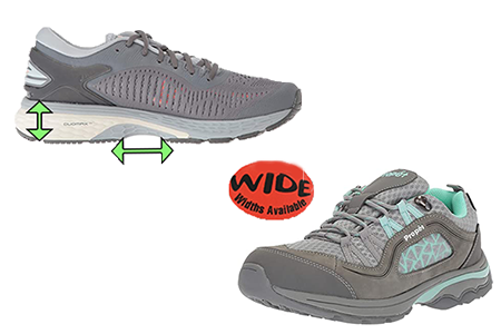 Best Shoes for Women with Flat and Wide Feet