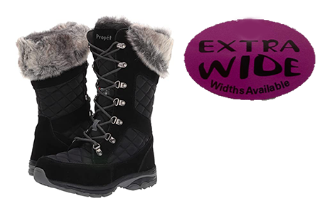 Stylish Winter Boots for Women with Extra Wide Feet