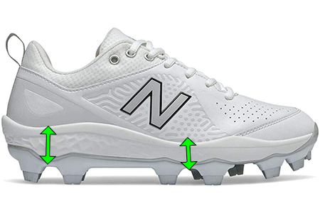 softball-cleats-for-women-with-foot-pain