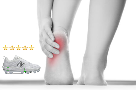 best-softball-cleats-for-women-with-foot-pain