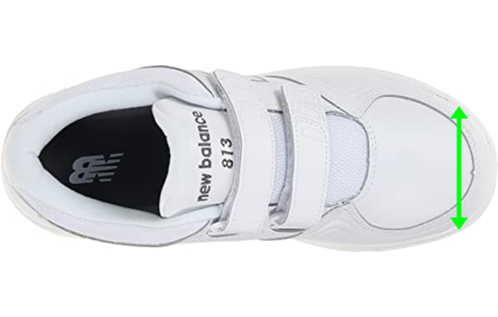 white-velcro-shoes-for-women-with-wide-feet