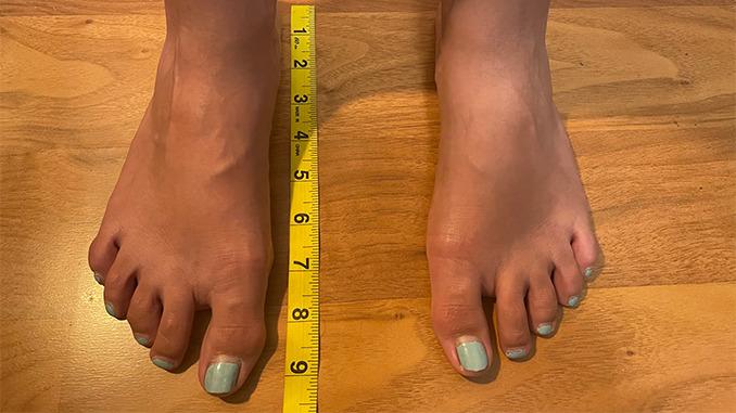 how-to-measure-women's-feet